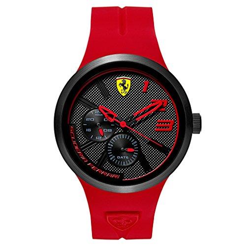 Scuderia-Ferrari-Mens-FXX-Quartz-Resin-and-Silicone-Casual-Watch-ColorRed-Model-0830396