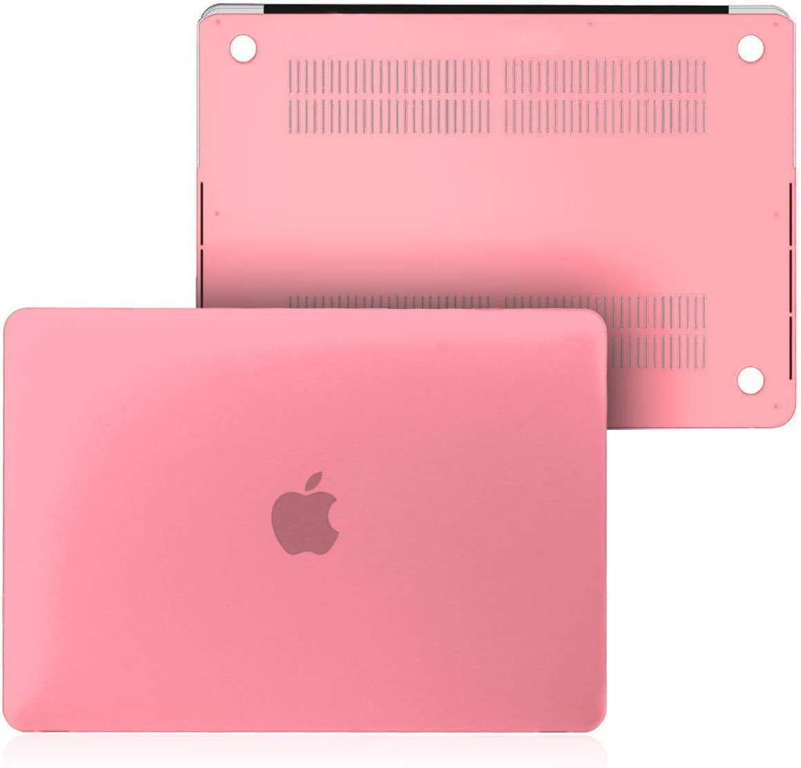 FINDING CASE BUNDLE 2 In 1 Rubberized Matte Plastic Hard Shell Case For MacBook Pro 15 inch with Retina Display A1398 No CD-Rom Hot pink Case UK//EU layout Keyboard Cover
