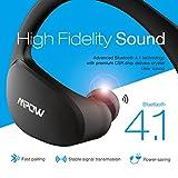 Mpow Cheetah Bluetooth Headphones V4.1 Wireless Sport Headphones Sweatproof Running Workout Headset-[Gen-3]