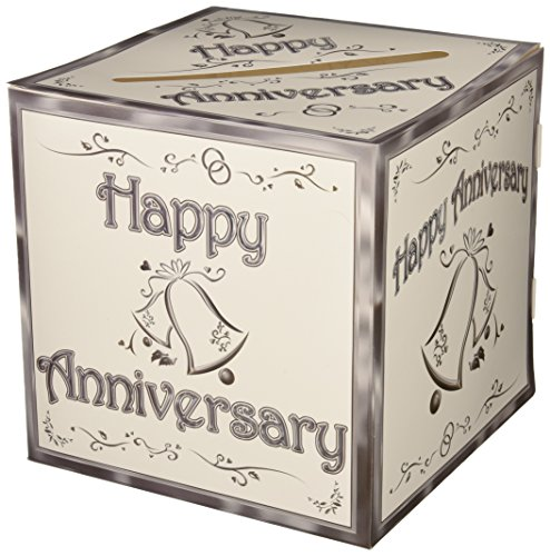 25th Anniversary Card (Anniversary Card Box Party Accessory (1 count))