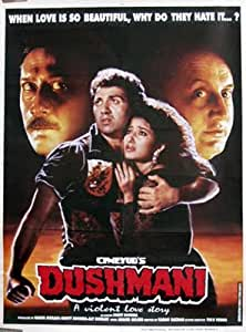Dushmani: A Violent Love Story (1995) (Hindi Film / Bollywood Movie / Indian Cinema DVD)