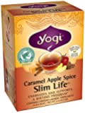 Yogi Caramel Apple Spice Slim Life Tea, 16 Tea Bags, 1.12 Ounce