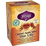 Yogi Caramel Apple Spice Slim Life Tea, 16 Tea Bags, 1.12 Ounce