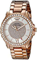 Juicy Couture Women's 1901233 Pedigree Analog Display Quartz Rose Gold Watch