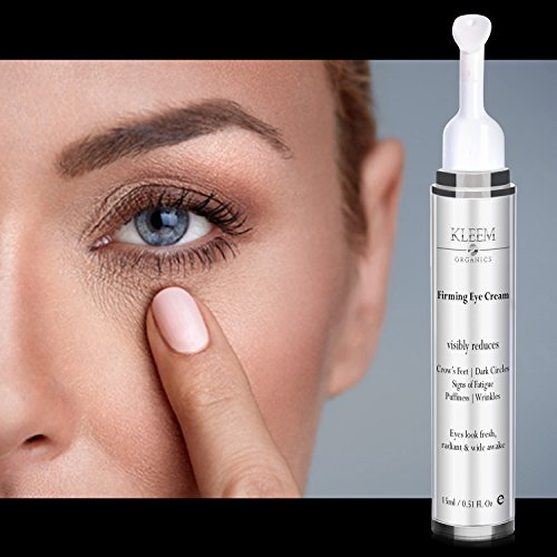 516 0n8MBuL - NEW Anti Aging Eye Cream for Dark Circles and Puffiness that Reduces Eye Bags, Crow's Feet, Fine Lines, and Sagginess in JUST 6 WEEKS. The Most Effective Under Eye Cream for Wrinkles (0.51 fl.oz)