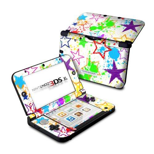 Scribbles - DecalGirl Sticker Wrap Skin Compatible with Nintendo Original 3DS XL (Scribble Wallpaper)