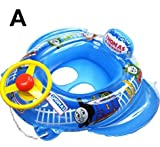 Summer Inflatable Thomas Friends Baby Kid Toddler Newborn Infant Child Boy Girl Swim Swimming Pool Boat Ring Raft Float Tube Seat Safety Aid Trainer (A)