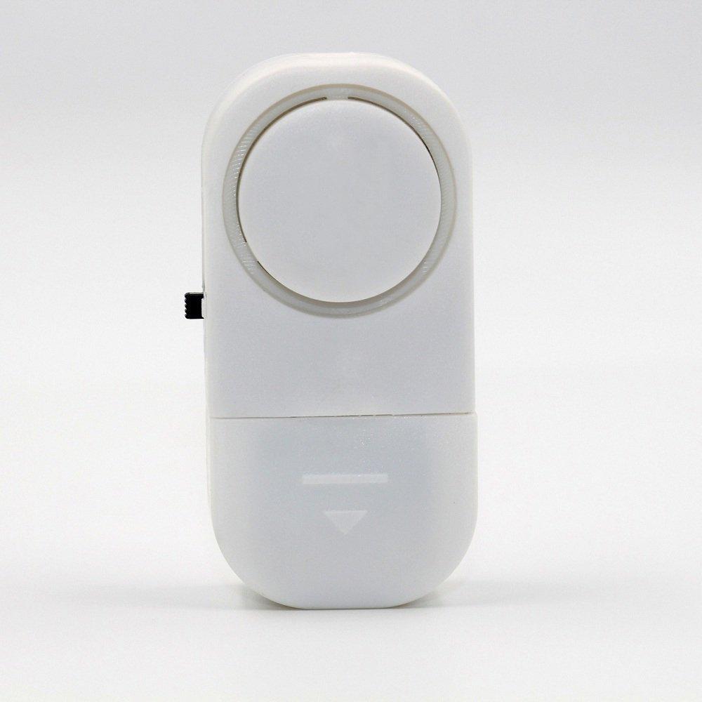 STW 10 piezas Alarma del sensor inalámbrico Anti-robo de las puertas y ventanas de la casa Sistema de alarma de seguridad Sensor magnético: Amazon.es: ...