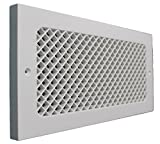 SMI Ventilation Products EBB614 Cold Air Return - 6 in x 14 in Essex Style Base Board - Overall Dimensions 8 in x 16 in