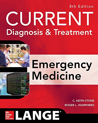 Pdf Medical Books CURRENT Diagnosis and Treatment Emergency Medicine, Eighth Edition (Current Diagnosis and Treatment of Emergency Medicine)