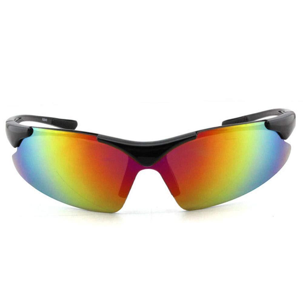 b6f7b317f1 Ludage Buena Gafas de Deporte Arena de a Prueba de Viento de Gafas de Sol  al Aire Libre ...