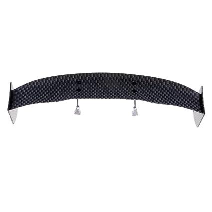 Hellery 1/10 RC Accesorios para Automóviles - Carbón Wing Spoiler ...