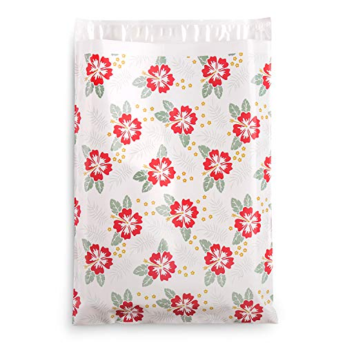 """Shiplies #4 100 Pack 10"""" x 13"""" Christmas Printed Design Poly Mailers Shipping Envelopes Boutique Custom Bags with Self-Adhesive Strip"""