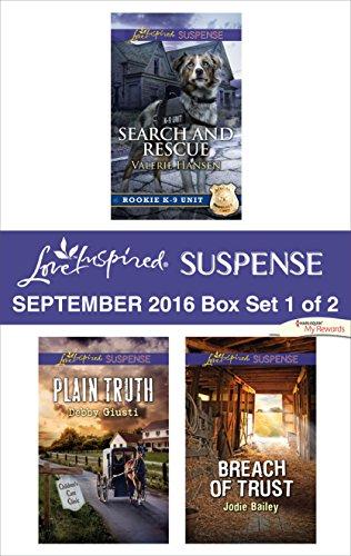 book cover of Harlequin Love Inspired Suspense September 2016 - Box Set 1 of 2