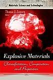 Explosive Materials, Thomas J. Janssen, 1617611883