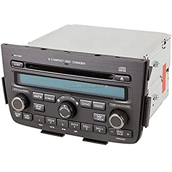 Amazon Com Oem Radio Stereo For Honda Accord W Face Code