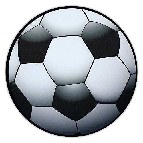 Soccer Ball Shaped Magnet - Car, Truck, SUV, or Refrigerator Magnet - Also Great For Lockers! ()