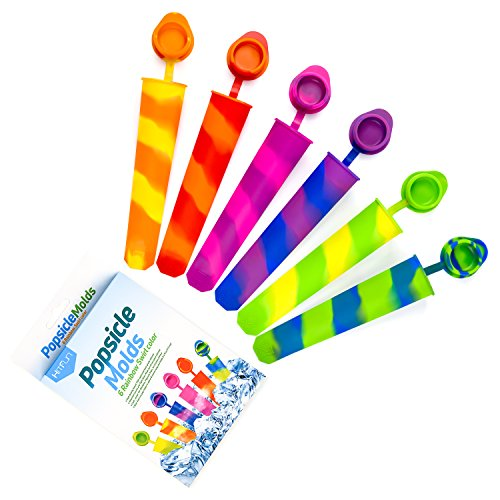 Silicone attached Colored Popsicle HITFUN