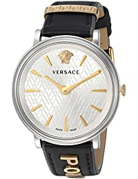 beb69b29a8768 Women s  Manifesto Edition  Swiss Quartz Stainless Steel and Leather Casual  Watch