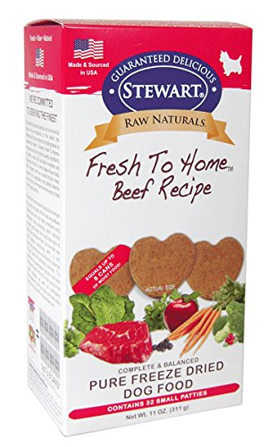 Stewart Raw Naturals Fresh To Home  Freeze Dried Dog Food For Sale