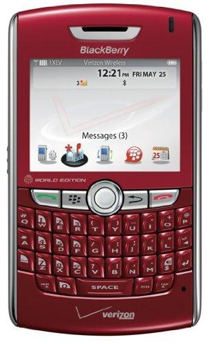 Red BlackBerry 8830 Bluetooth EVDO Phone for (Blackberry 8800 Bluetooth)