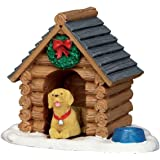 Lemax Village Collection Log Cabin Dog House #54943 by Lemax