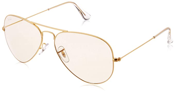 bf774c23537a2c Ray-Ban UV protection Aviator Men s Sunglasses (L2928 58 millimeters Photo  Brown