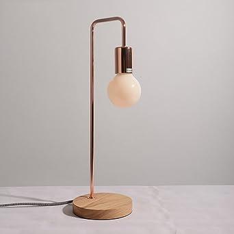lámpara de la mesilla dormitorio minimalista nórdico ...