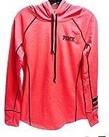 Victoria's Secret Women's PINK Ultimate Pullover Hoodie Jacket Marl Coral