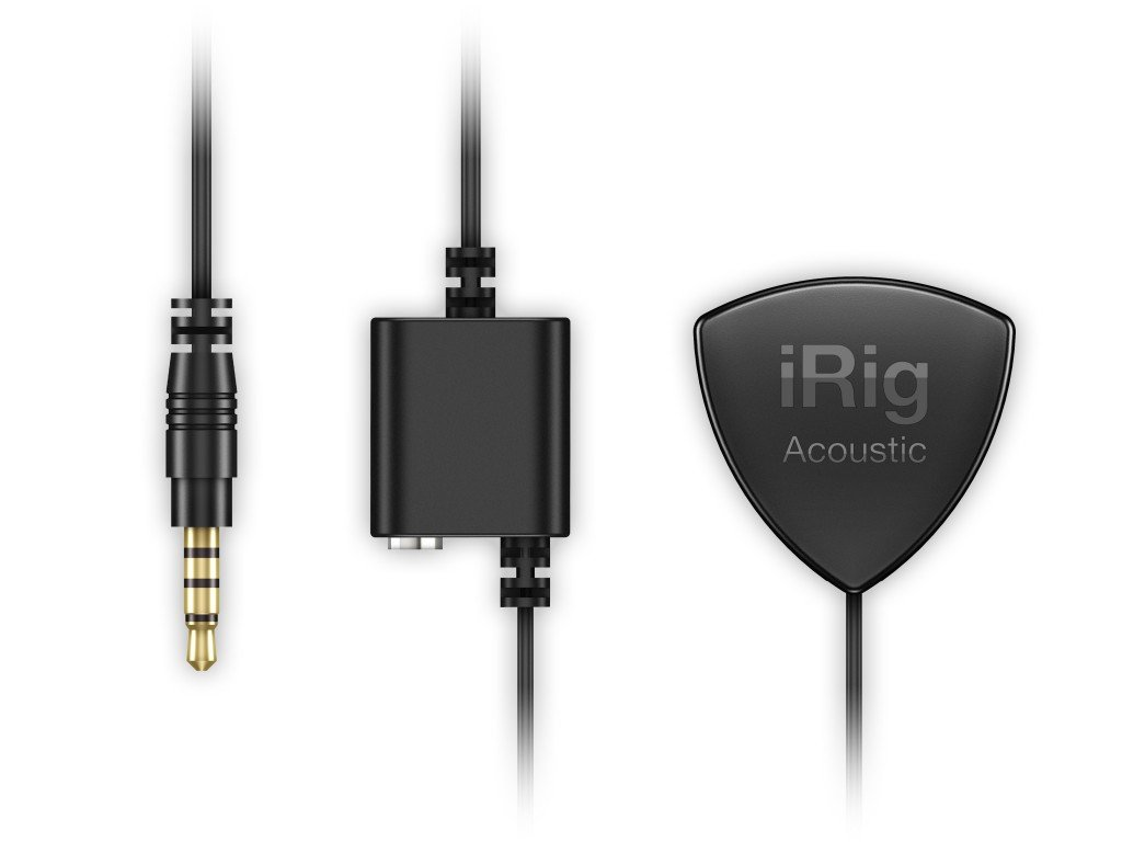 IK Multimedia iRig Acoustic acoustic guitar microphone/interface for iPhone, iPad and Mac by IK Multimedia