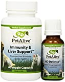 PetAlive KC-Defense and Immunity & Liver Support ComboPack