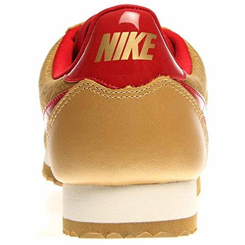 Nike MD Runner 2, Baskets Mode Femme, Bleu Thunder Blue/Volt-wh