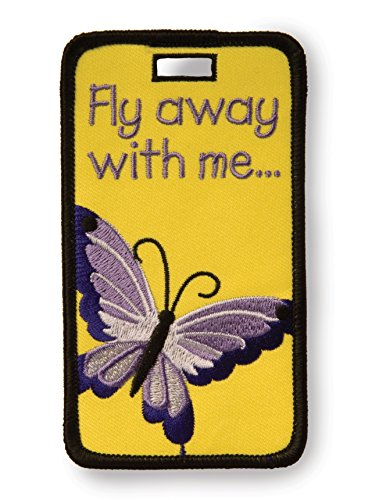 - Alexx Not Just A Luggage Tag, Fly Away with Me Butterfly