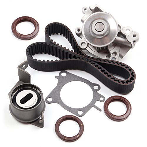 SCITOO FITS 2003-2006 Mitsubishi Lancer 2.0 SOHC 16V Timing Belt KIT Water Pump