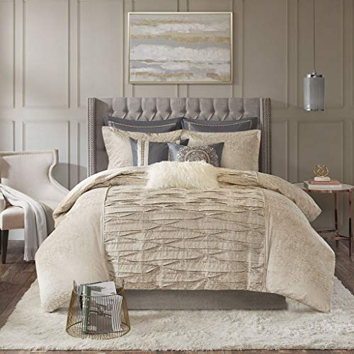 MADISON PARK SIGNATURE Allure Comforter Set, King, Blush