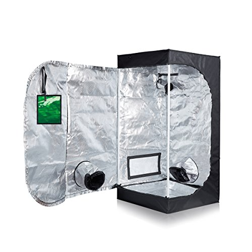TopoLite Grow Tent for Hydroponic Indoor Growing System Dark Room Grow Boxes (24