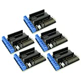 5pcs L293D Wireless Motor Driver / Controller Board with WiFi ESP8266 Plates Sockets for Arduino and other Microcontrollers from Optimus Electric
