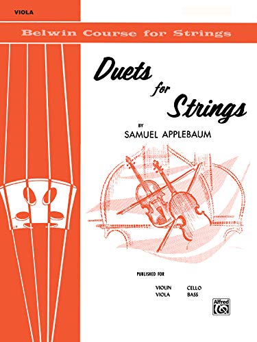 (Duets for Strings, Bk 1: Viola (Belwin Course for Strings))