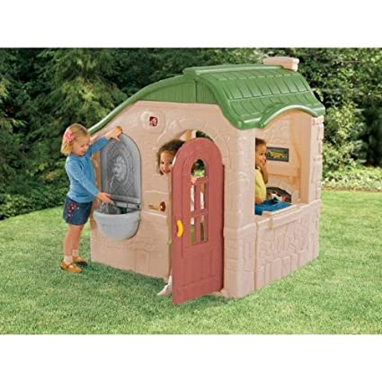 amazon com step2 naturally playful magic fountain cottage toys games rh amazon com Country Cottage step2 naturally playful countryside cottage