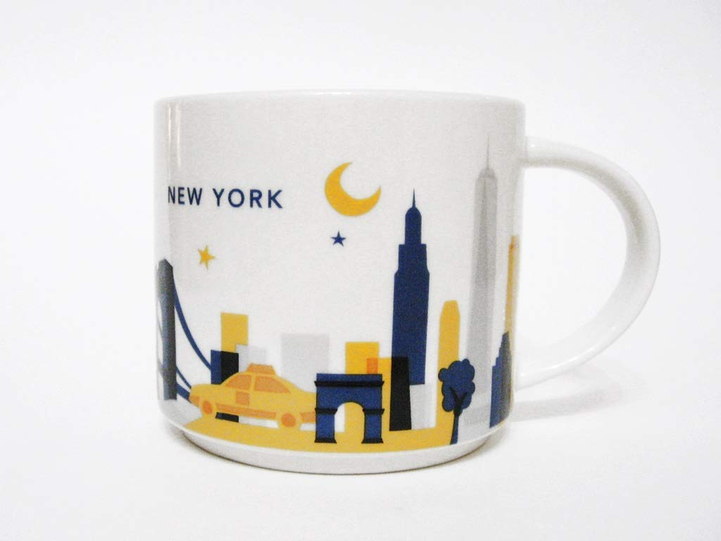 Starbucks New York City Mug Coffee Cup Special Edition with Original Starbucks Box 14 Oz