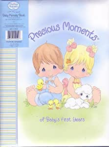 """Precious Moments Baby Memory Book """"Of Baby's First Years"""""""