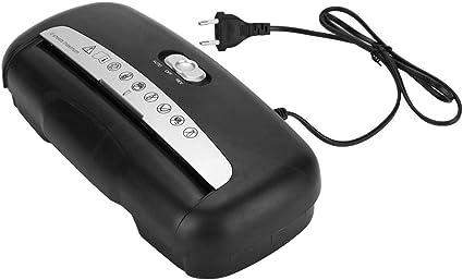 Kreuzschnitt-Schredder 220V EU Stecker Elektro Aktenvernichter f/ür Papier und Kreditkarte Kreuz Schnitt Zerst/ören