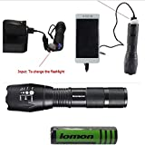 2017 - XML T6 Brightest Portable Lnternas i5000 Lumen G700 Rechargeable Tactical Led Flashligh with out put USB charger for Phones and tablets