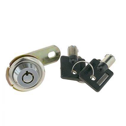 PrimeMatik - Cerradura de Leva de 19mm x M18 con Llave Tubular