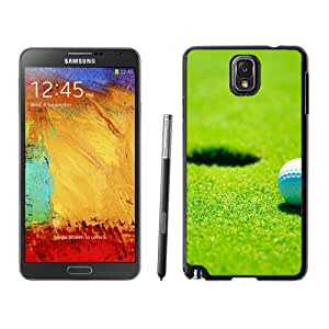New Fashion Custom Designed Skin Case For Samsung Galaxy Note 3 With Golf Hole Phone Case Cover