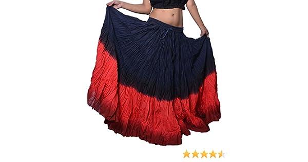 Wevez Falda larga para danza del vientre, bailes tribales ...
