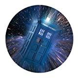 Doctor Who Science Fiction Film Customized Round Mouse Pad