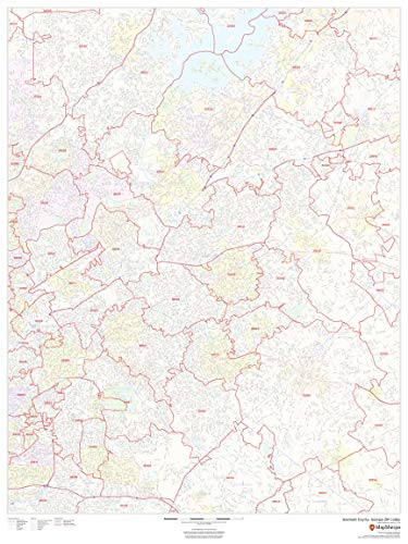 Gwinnett County, Georgia Zip Codes - 36