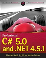 Professional C# 5.0 and .NET 4.5.1 Front Cover