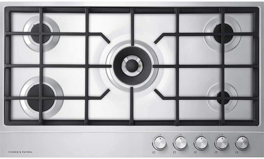 Fisher Paykel CG365DNGX1N 36 Inch Gas Cooktop